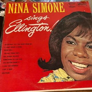 Nina Simone sings Ellington LP